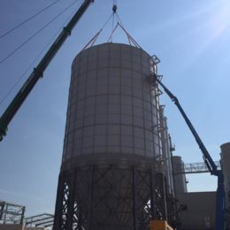 Bolted Cement Silo 5000 tons (4500 m³)