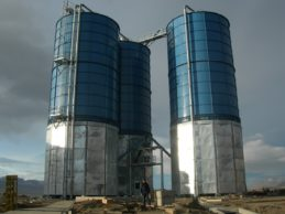 Bolted Cement Silo 3 x 1300m³