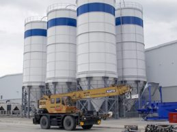 5 x Bolted Cement Silo 400 m³