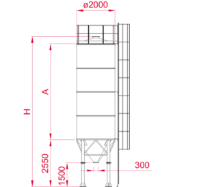 Monolithic Vertical Silos