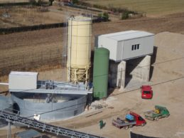 Bolted Cement Silo 180 m³