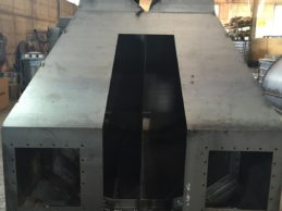 Low Level Horizontal Cement Silo Twin Chamber 16m³
