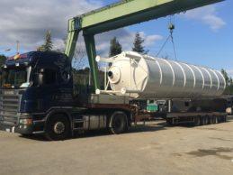 Monolithic Vertical Cement Silo 57m³
