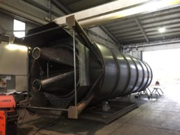 Monolithic Vertical Double Chamber Cement Silo 75m³