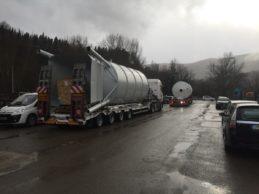 2 x Monolithic Vertical Cement Silo 40m³