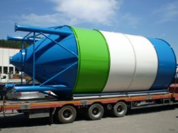 Monolithic Vertical Cement Silo 40m³