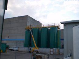 6 x Monolithic Storage Tanks ø3500